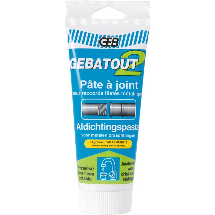 Pâte d'étanchéité Gebatout - Pour raccords filetés métalliques-2