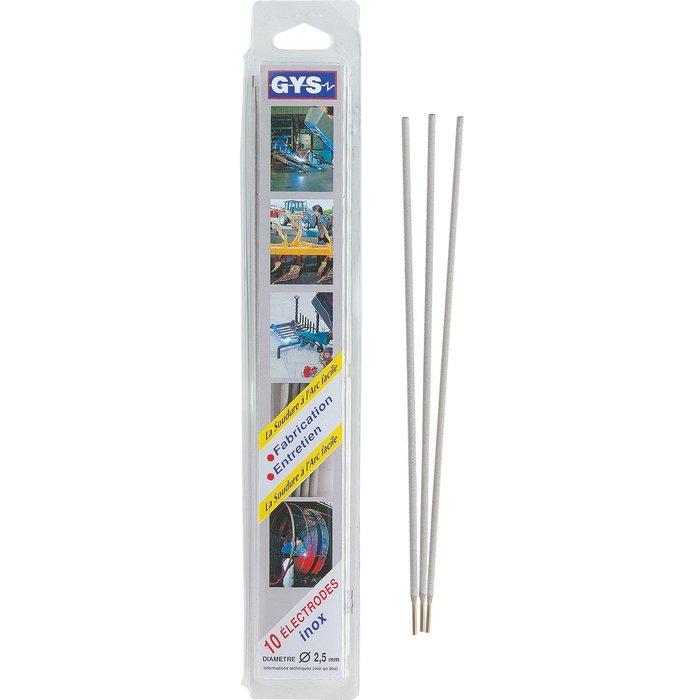 Électrode inox - Pour soudure à l'arc - Boîte de 10 pièces-2