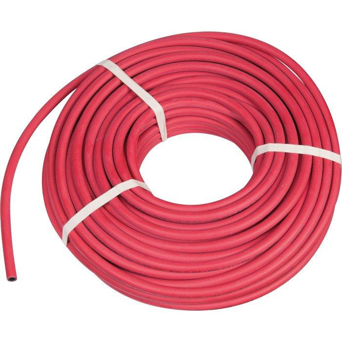 Tuyaux caoutchouc - Rouge - Raccordement acétylène