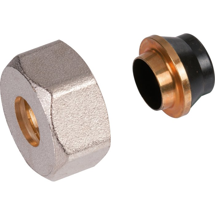 Raccord de radiateur - Pour tube cuivre recuit - Femelle-1