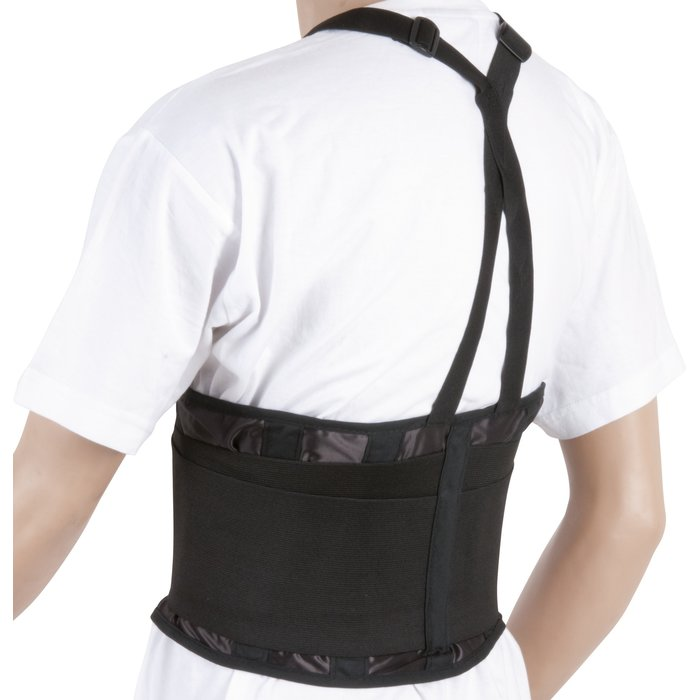 Ceinture de travail - Maintien lombaires avec bretelles - À porter sur le vêtement-2