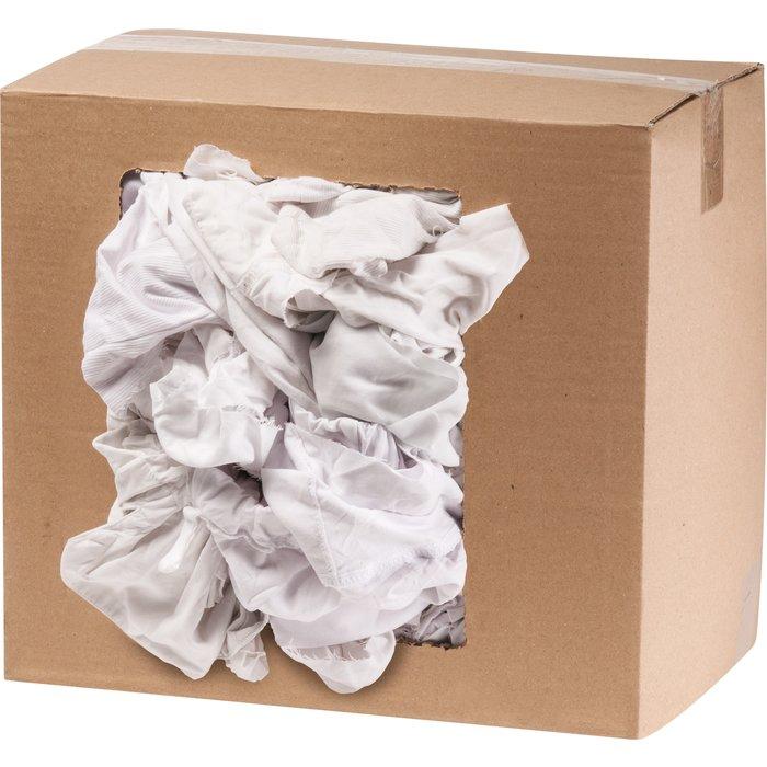Chiffon blanc recyclable