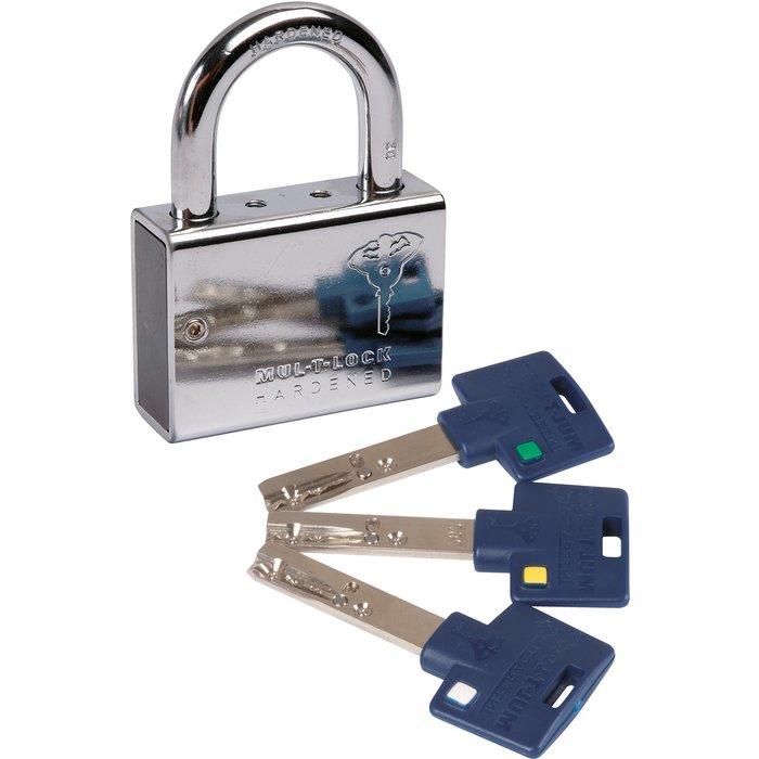 Cadenas à clé - Série C - Varié - Avec 3 clés-1