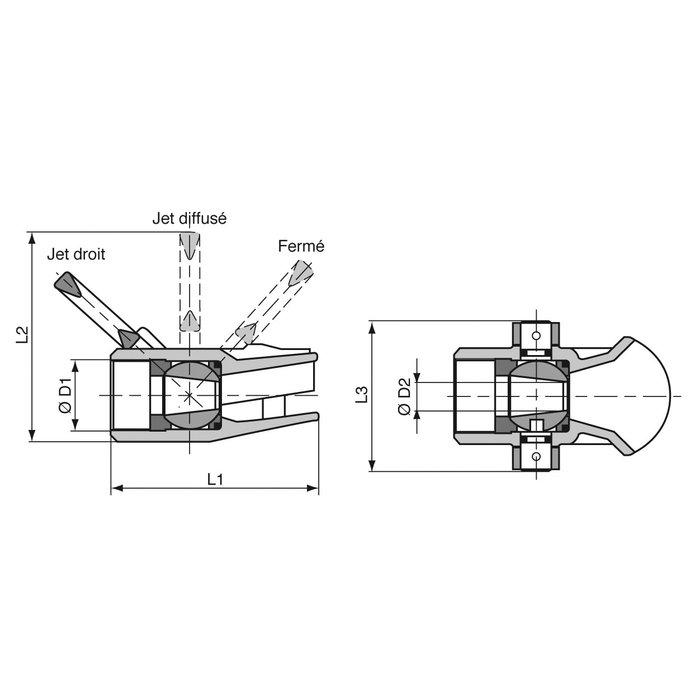 Robinet jet-diffuseur Hugjet-1