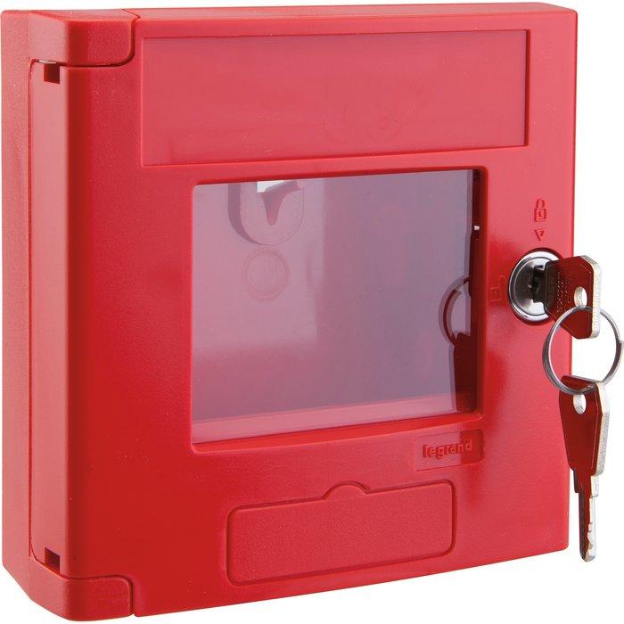 Coffret de sécurité réserve de clé - Rouge