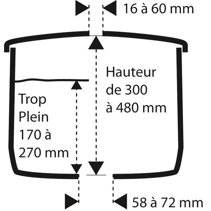 Kit mécanisme de WC 365 à câble - Poussoir double débit-1