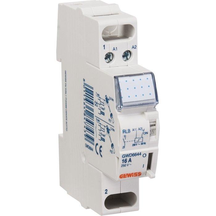 Télérupteur - 1 module - Tension 230 V - Intensité 16 A-1