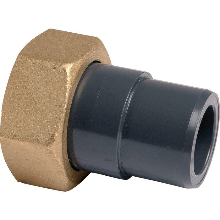Raccord union mixte - PVC pression - Mâle
