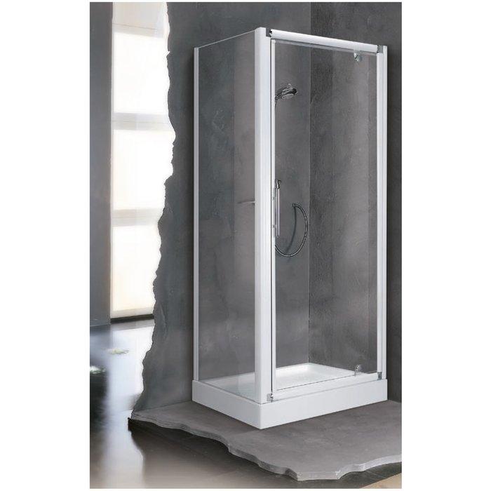 Porte et paroi de douche