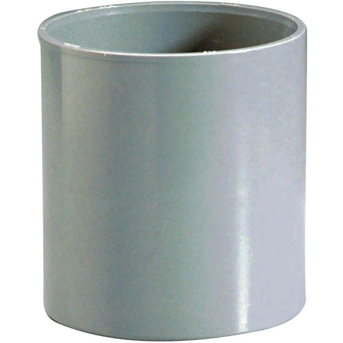 Manchon égal d'évacuation - PVC - Femelle / Femelle