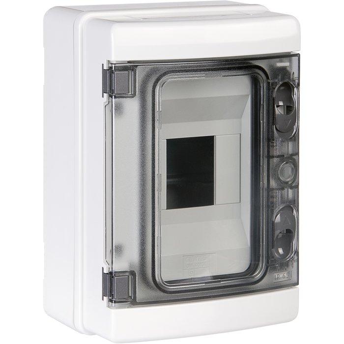 Coffret électrique IP65 - Ensaillie - 1 rangée