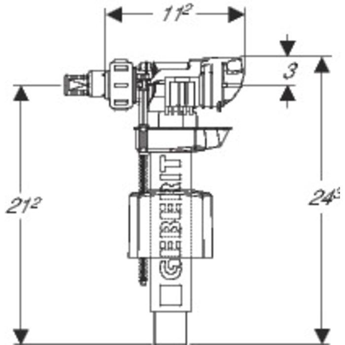 Robinet flotteur type 380 - À alimentation latérale-1