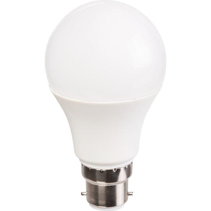Pack d'ampoules à LED standard - Culot B22 - Puissance 9 W