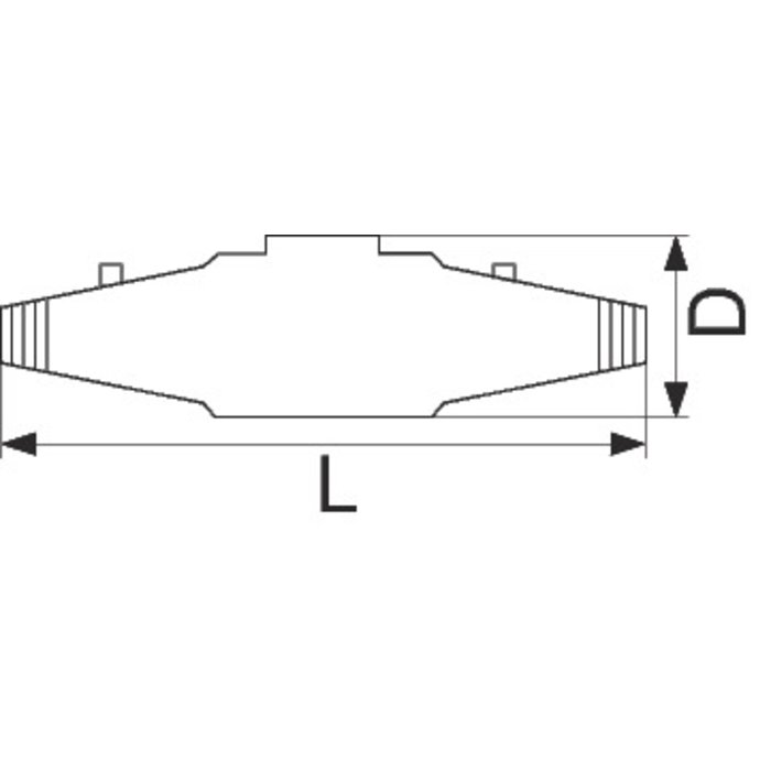 Boîte de jonction - Droite - Résine époxy-1