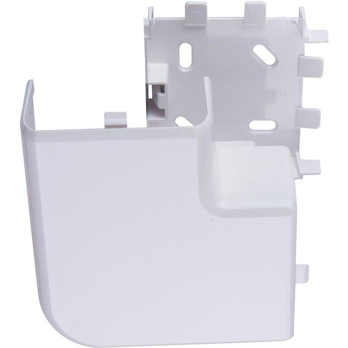 Angle plat pour goulotte électrique Mosaic - Angle 90°