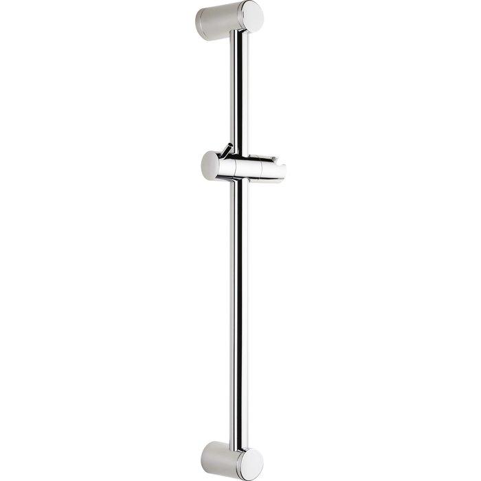 Barre de douche - Diamètre 25 mm - Curseur à poignée-1