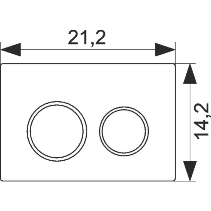 Plaque de commande double débit Oméga 20 pour Oméga-1