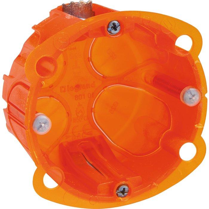Boîte d'encastrement Batibox - Multimatériaux - 1 poste-2