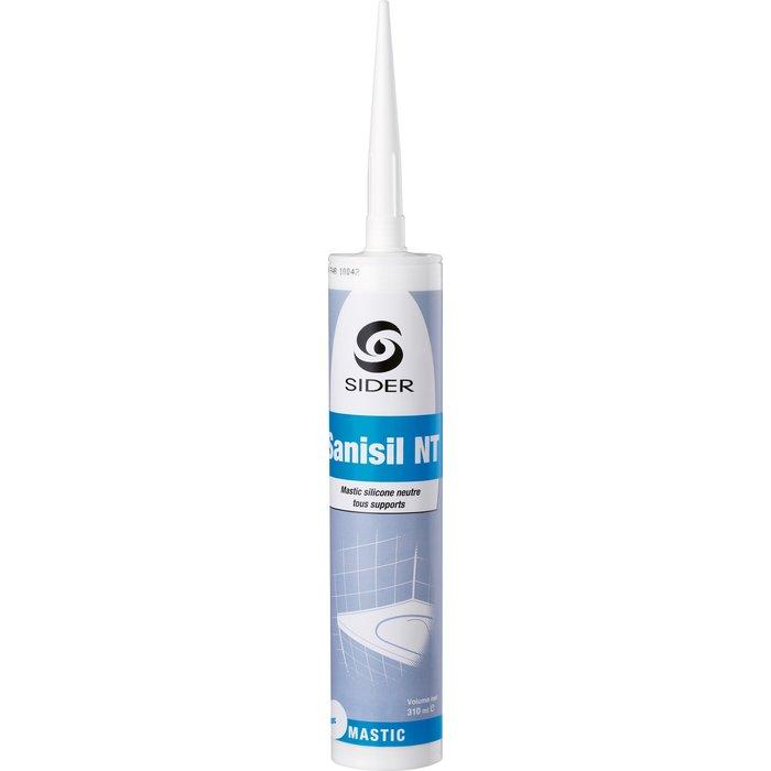 Mastic silicone neutre Sanisil NT - Anti-moisissure