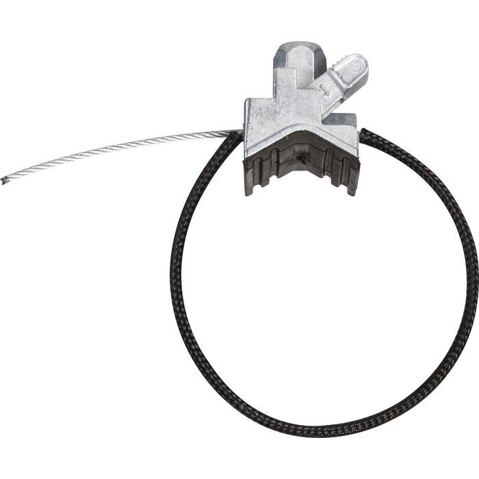 Collier rapide universel - Avec garniture insonorisante et gaine - Pour tuyauterie - Lot de 10-1
