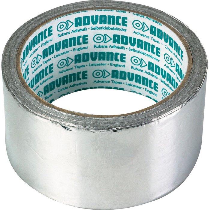 Ruban adhésif - Aluminium - Longueur 10 m