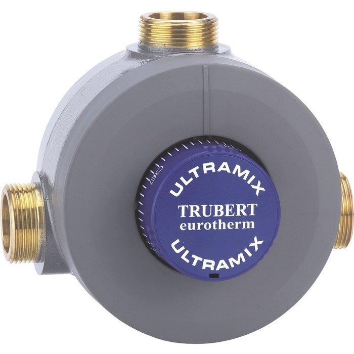 Mitigeur thermostatique collectif Trubert Eurotherm - Débit 56 à 400 l/min