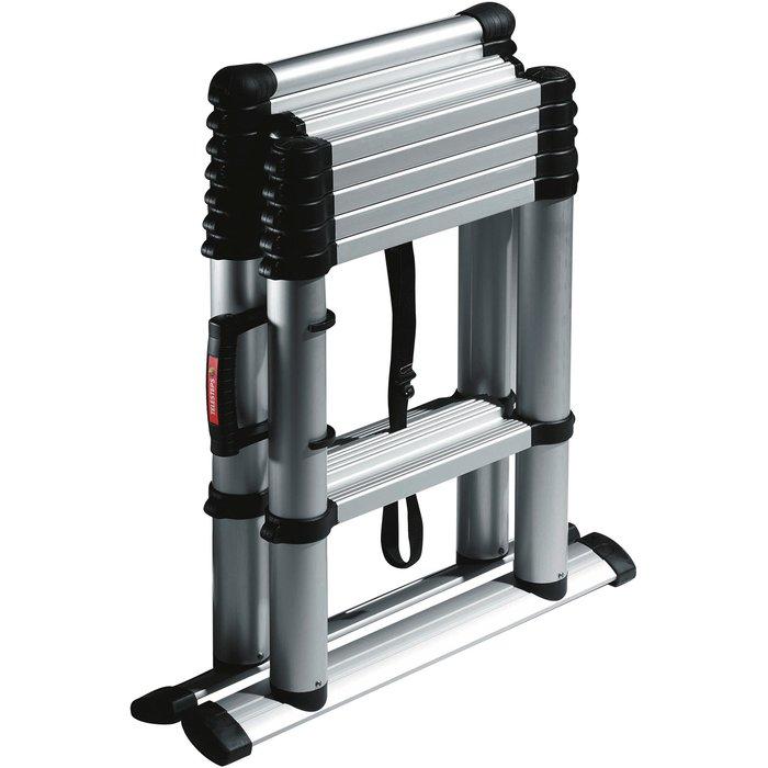 Échelle télescopique Combis -  Transformable et pliable - Hauteur maximum 2,3 m
