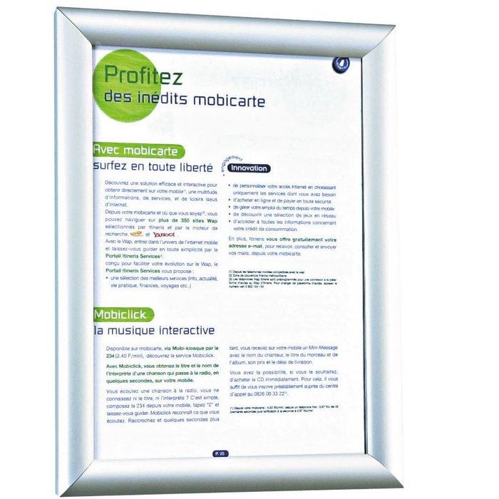 Cadre d'affichage - Usage intérieur et extérieur - Format A4