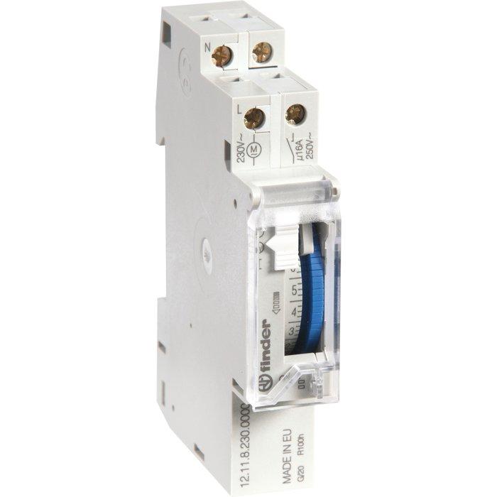 Interrupteur horaire à segments - Série 12.11 - 1 module-1