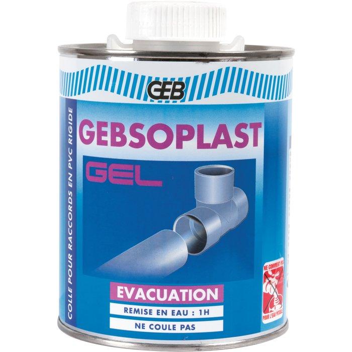 Colle pour raccords PVC rigide Gebsoplast - Gel - Vendue en pot-2