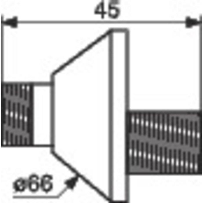 Raccord excentré - Mâle / Mâle - Excentration de 10 mm-1