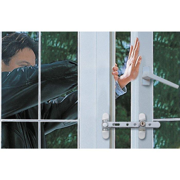 Entrebailleur de sécurité pour fenêtre - À clé-2