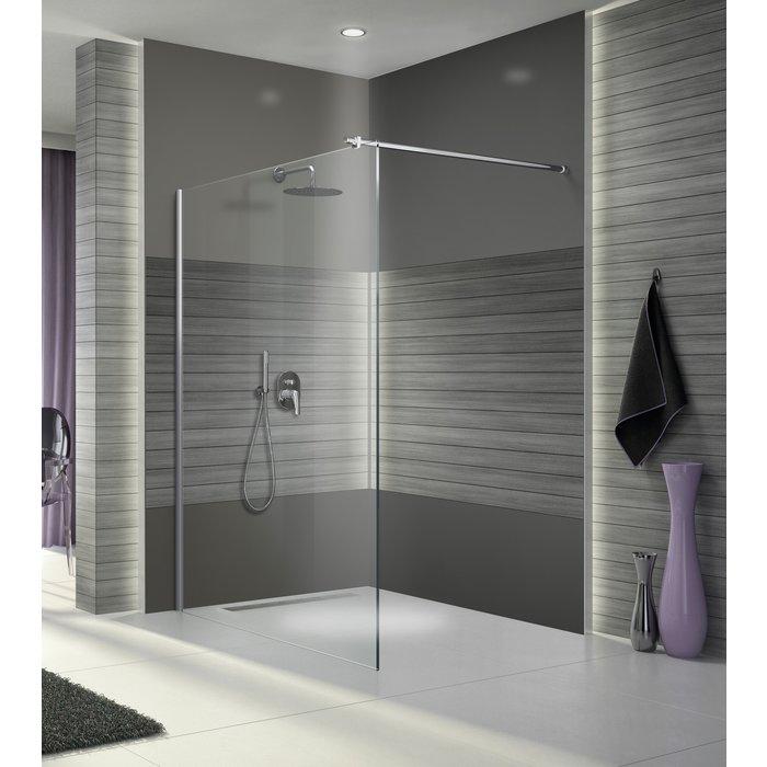 Paroi de douche Open 2 avec barre de stabilisation