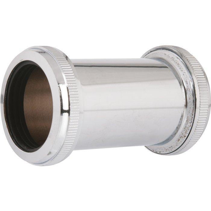 Douille de raccordement - PVC - Gris
