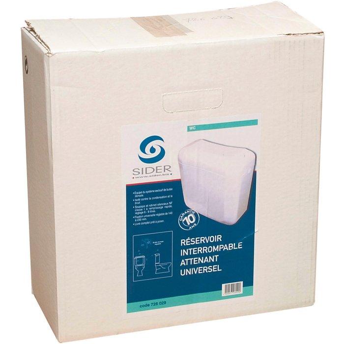 Réservoir WC attenant - Double débit-7