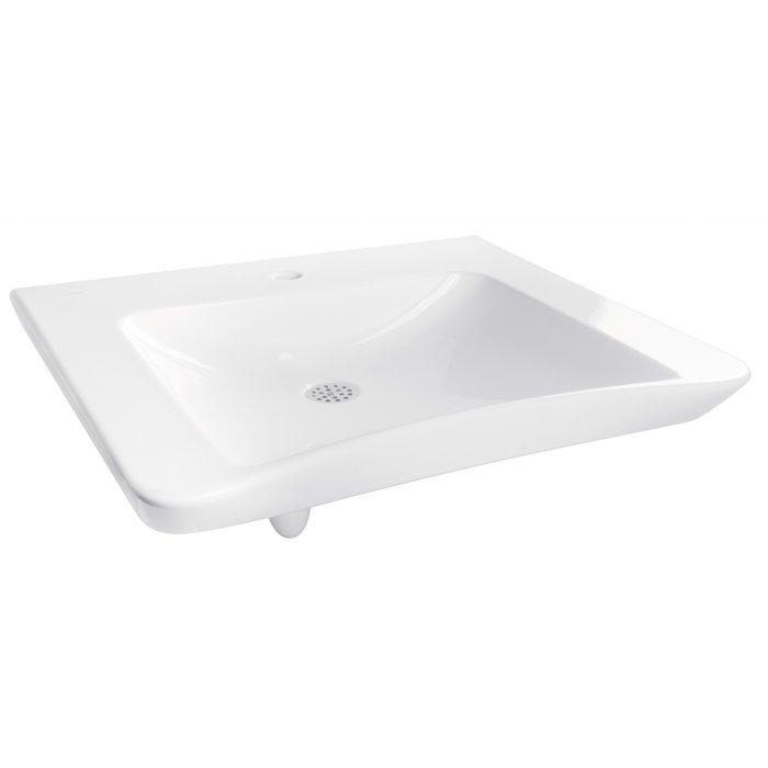 Pack lavabo céramique spécial PMR
