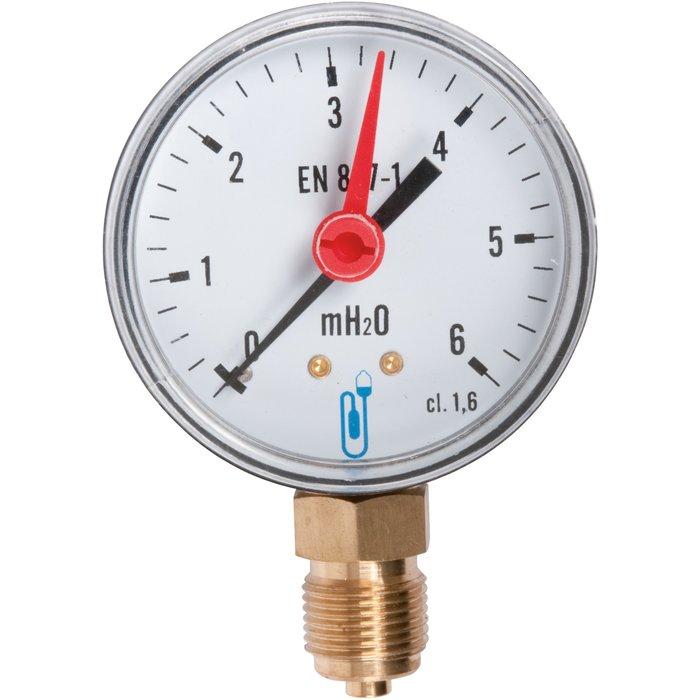 Hydromètre à cadran radial - Diamètre 63 mm