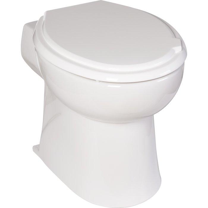 WC broyeur avec silencieux intégré