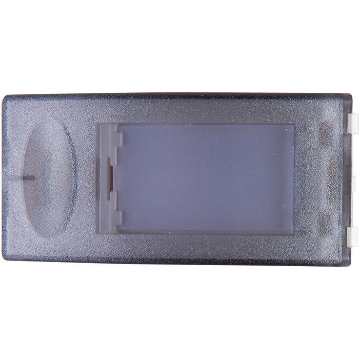Bouton poussoir Salsa - Porte étiquette IP30 - IK06