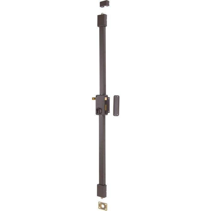 Serrure en applique à tirage Beluga CP - Axe 45 mm-1
