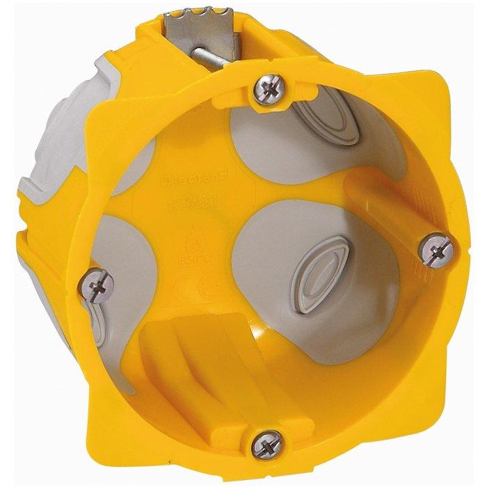Boîte d'encastrement Batibox Energy - 1 poste - Profondeur 40 mm