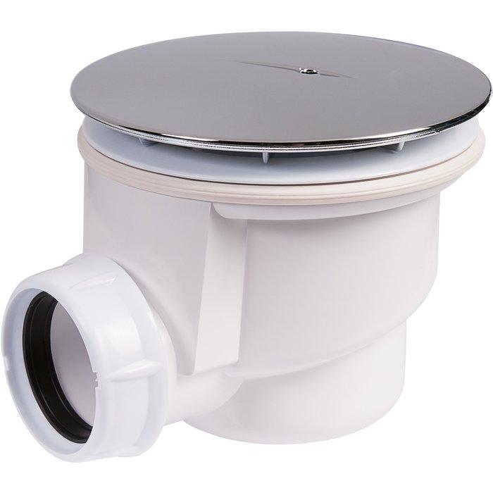 Bonde de douche horizontale - Pour receveur diamètre 90 mm
