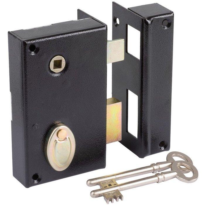 Serrure en applique 805 - À gorge - À fouillot - Axe 40 mm-1