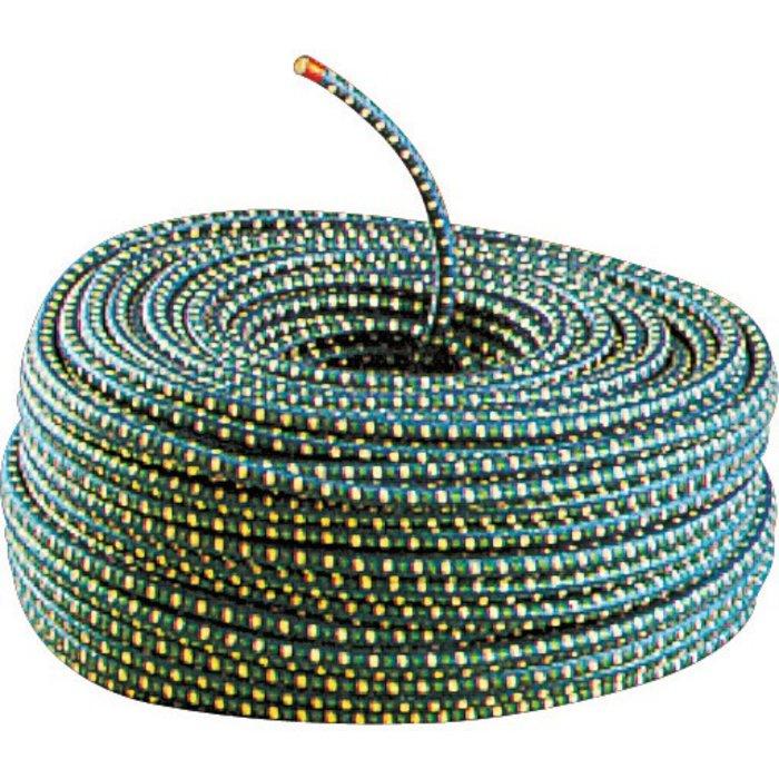 Câble élastique pour bâche de chantier - Longueur 100 m - Diamètre 8 mm
