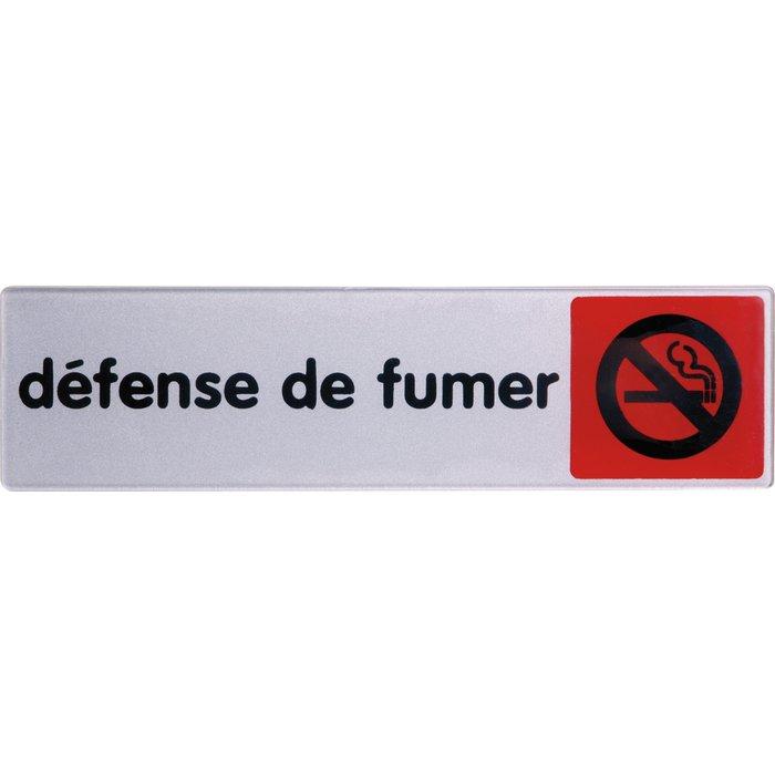 Plaque signalétique d'interdiction sur lieu de travail - Rouge-1