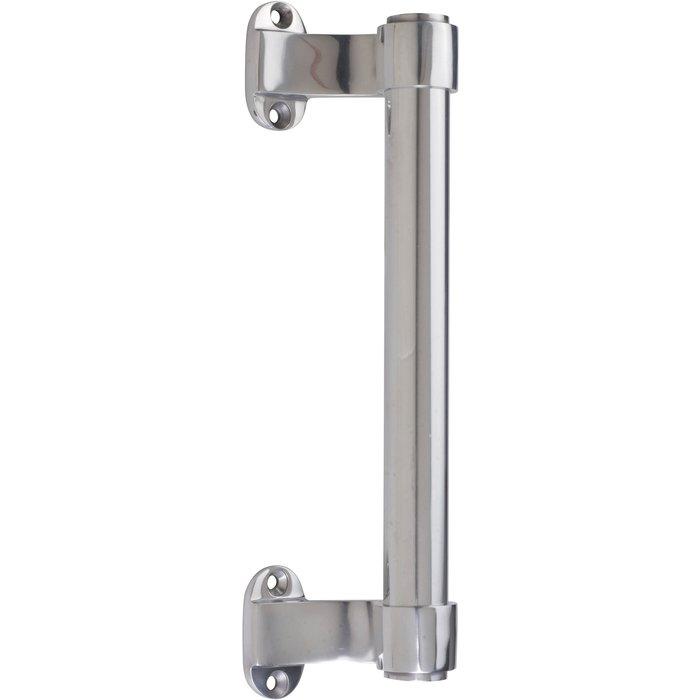 Poignée de tirage tubulaire type 502 - Aluminium poli - Longueur 220 mm