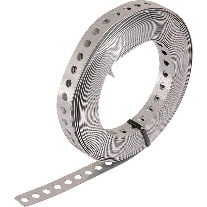 Bande perforée pour tube PER - Diamètre trou 8,5 mm