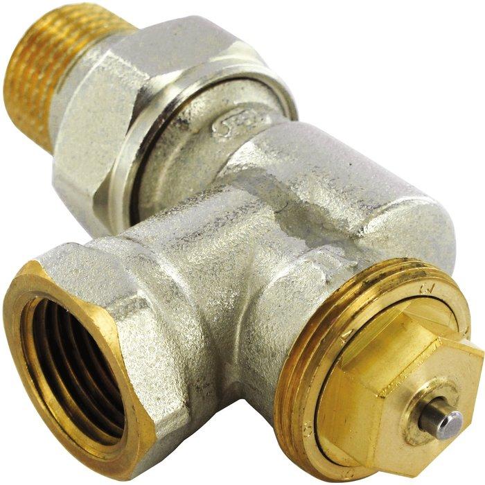 Robinet  thermostatique Senso M28 de radiateur - Équerre inversé - Femelle-1