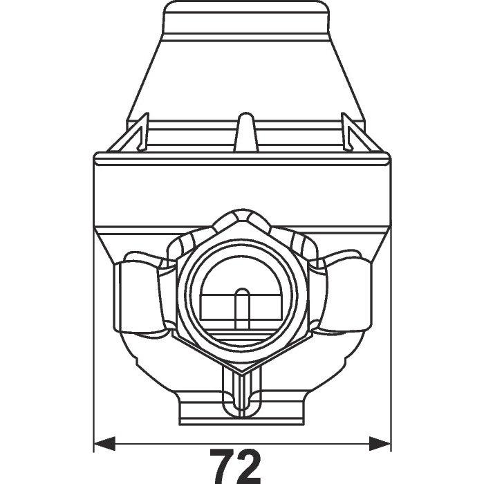 Reducteur de pression Isobar+ MG CC - Femelle / Femelle-2