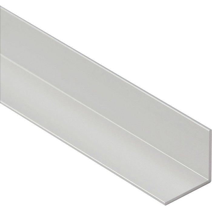Cornière égale aluminium brut brillant